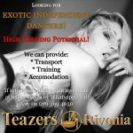 Exotic Dancers Wanted