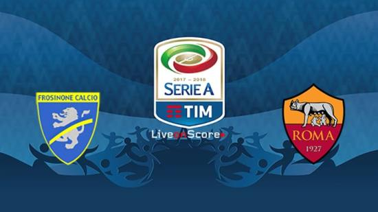 Prediksi Skor Bola Frosinone vs AS Roma 24 Februari 2019