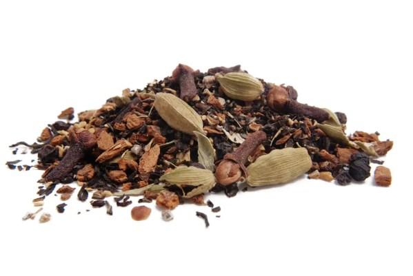close up photo of Masala Chai loose leaf tea