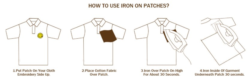 PVC3D Patch for Clothing