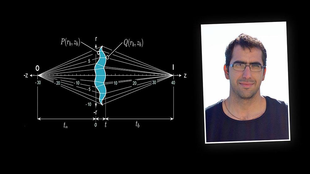 Rafael González Acuña con la solución al problema de la aberración esférica en lentes