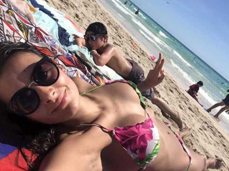 domi gallego bikini