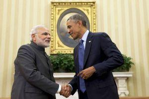 Obama Modi meet
