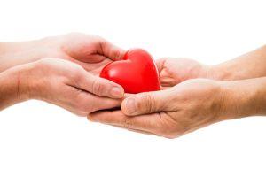 Heart Donation tecake