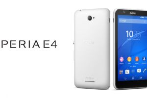 Sony Xperia E4 Tecake
