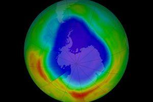 depleting ozone layer