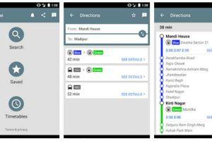 Delhi Public Transport App - The TeCake