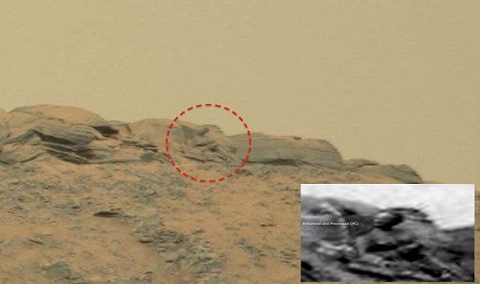 Alien existed? Buddha Statue found on Mars, claims UFO Sightings Daily