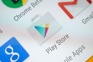 Google Play store icon- The TeCake