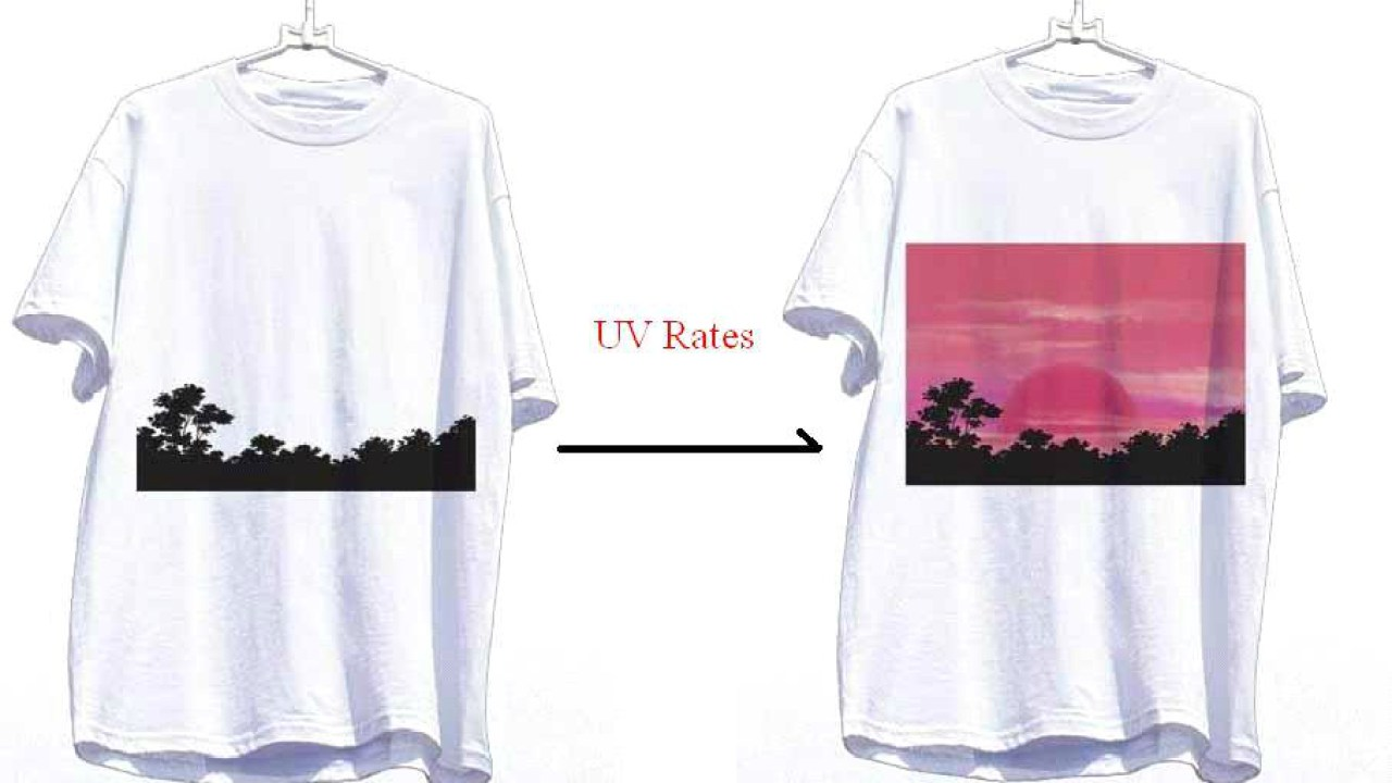 This New 500 T Shirt Can Detect Pollution Level By Changing Color