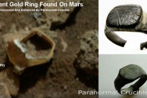 Incredible! Ancient Gold Ring Found on Mars [+IMAGE +Video]