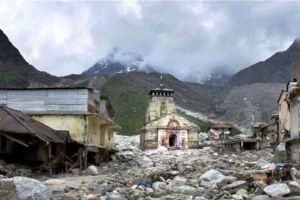The Kedarnath Temple at Rudraprayag in Uttarakhand. A mild earthquake hit Dharkudi village in the district early Monday