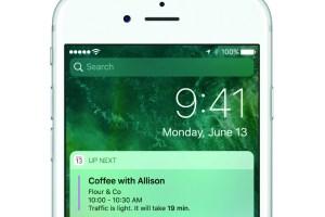 iphone today ios 10 apple