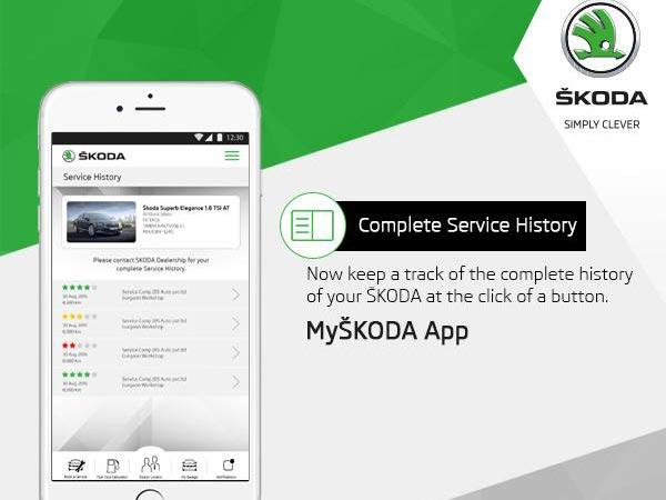 39 myskoda 39 mobile app now stay even more connected with your skoda. Black Bedroom Furniture Sets. Home Design Ideas