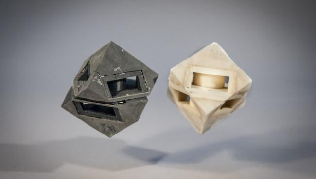 Spongy and shock-absorbing fabric developed to shelter 3D