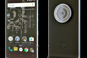 Kodak to its first smartphone Ektra for camera lovers in Germany