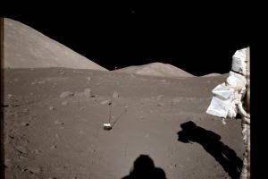 Not once, UFO seen twice on Moon eight frames apart, Watch video
