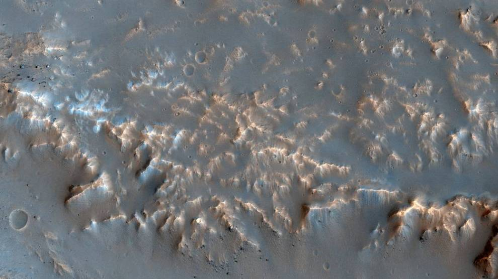 NASA image of the day shows well-preserved impact ejecta on Mars