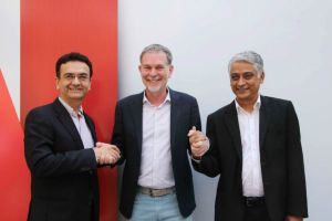 Netflix partners Vodafone, Airtel and Videocon