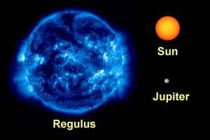 Bright star Regulus spinning fast enough to 'fly apart' and might destroy itself