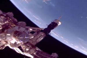 Aliens exist? Three alien spaceship spotted lingering around ISS in NASA live feed (VIdeo+)