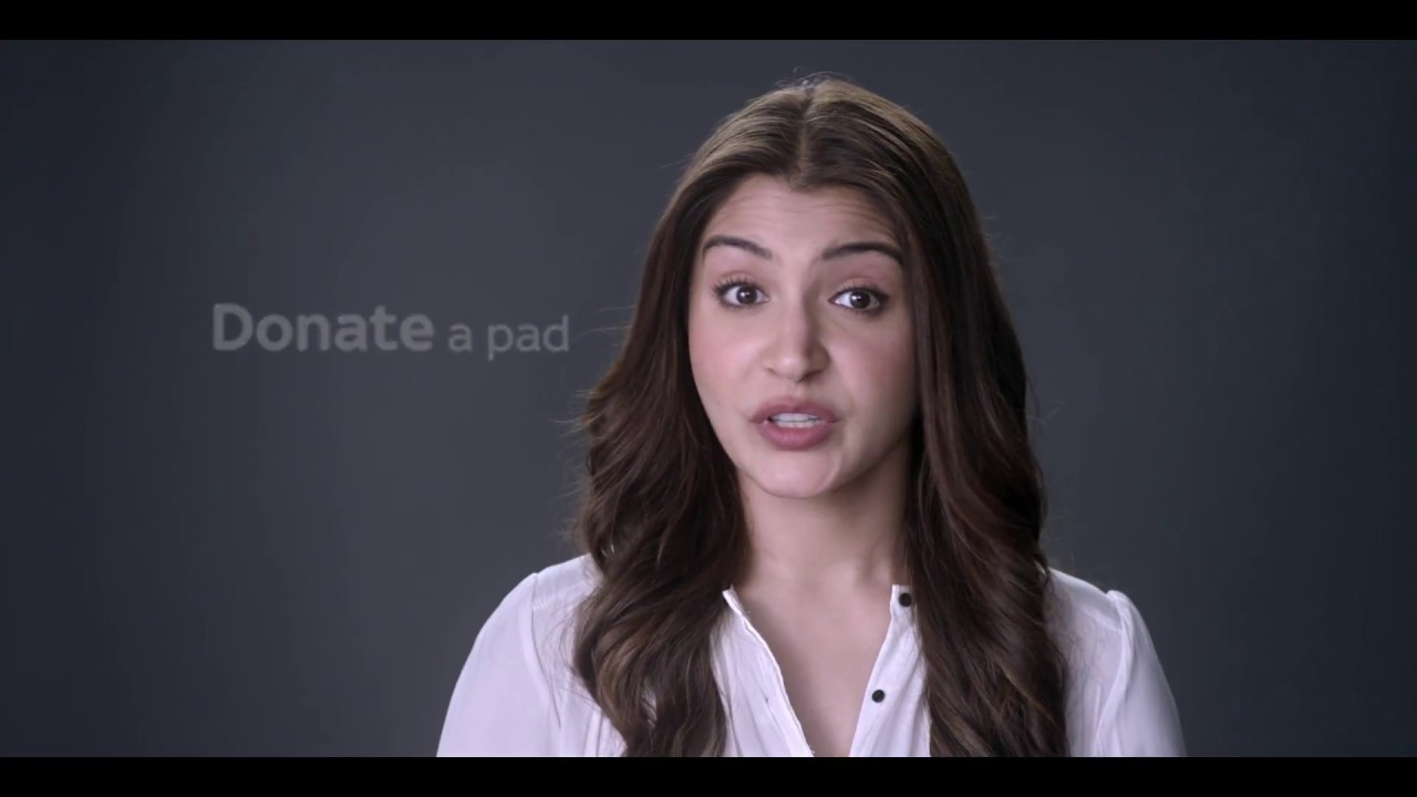 Anushka on sanitary hygiene