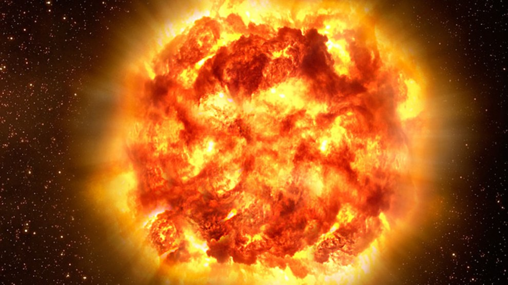Scientists says that Sun will bubble to death and will destroy Earth