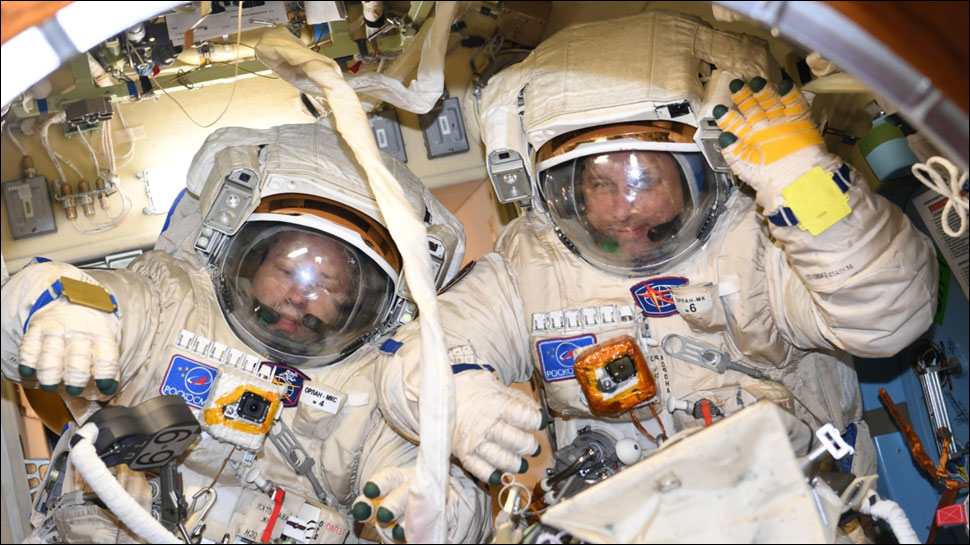 Cosmonauts Finish Record-Breaking Russian Spacewalk - Space Station