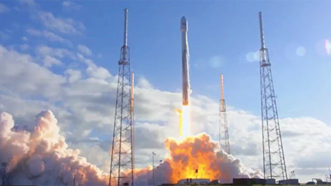 Elon Musk reveals SpaceX Falcon 9 survived a water landing test