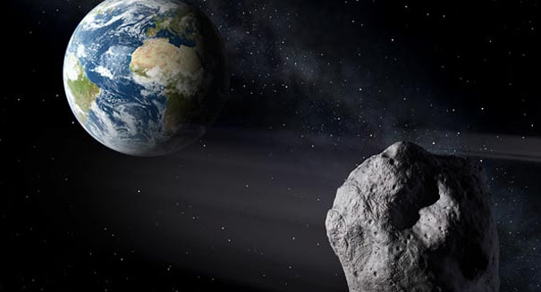A 140-metre asteroid 2018 DU will pass close to Earth on Feb 25 at 18:22 UTC
