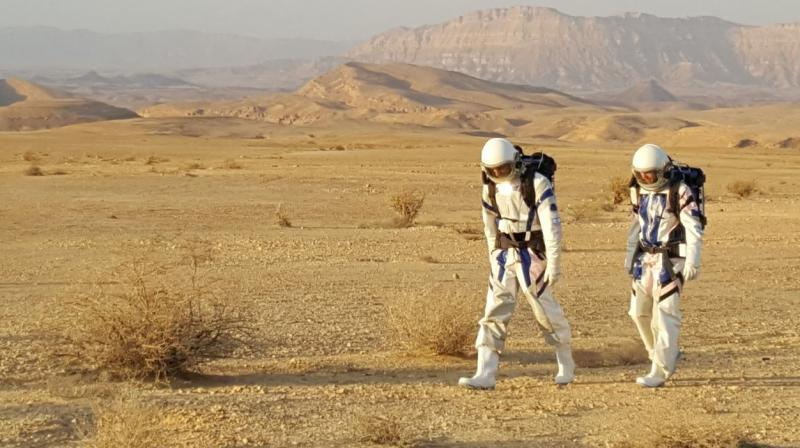 Israel Space Agency mimicked Martian surface in its four-day Mars mission in Negev Desert
