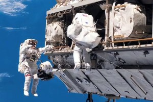 Two astronauts to take a 6.5 hour long spacewalk expedition on friday