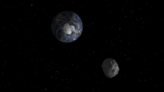 Giant asteroid pays a surprise visit, flyby Earth on weekend