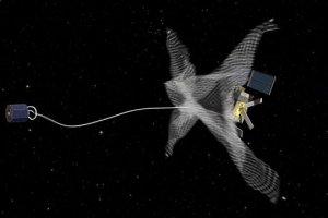 European space debris spacecraft will soon 'harpoon' the debris