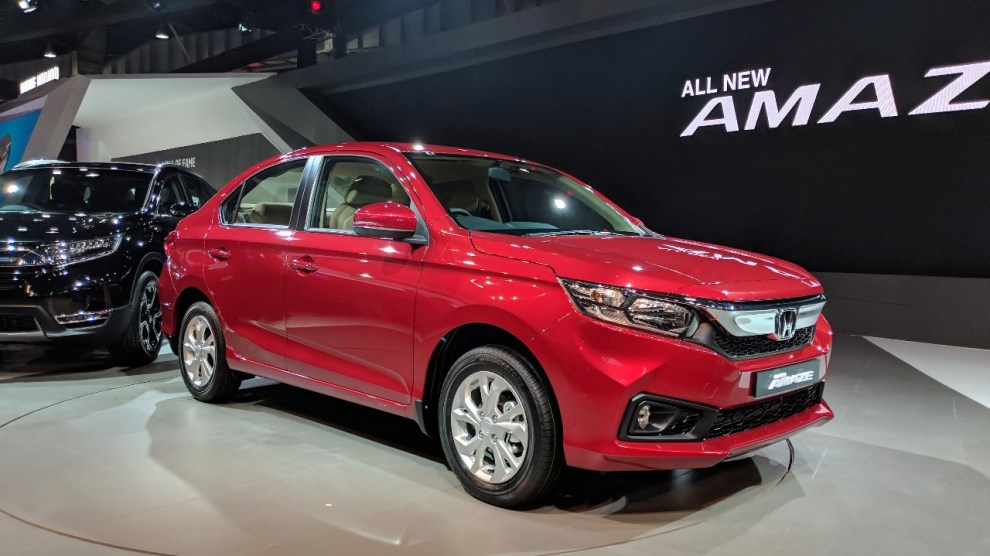 All new 2018 Amaze to get first ever Diesel CVT from Honda