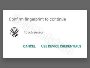 WhatsApp is reportedly working on a fingerprint authentication feature
