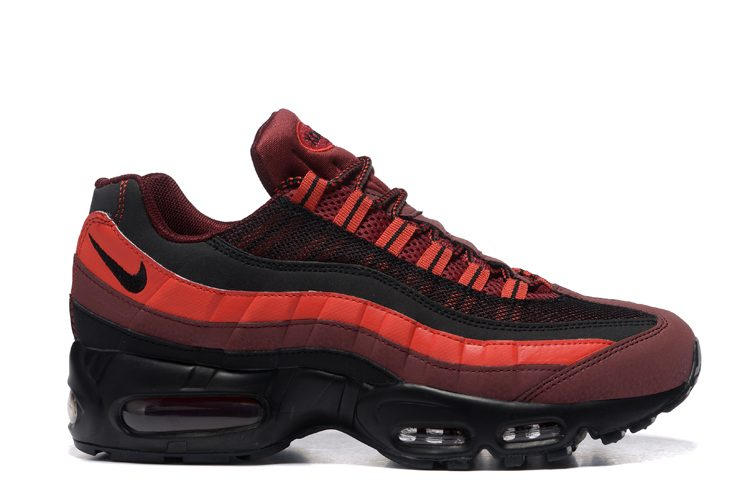 Nike Air Max 95 Rojo/Burdeos