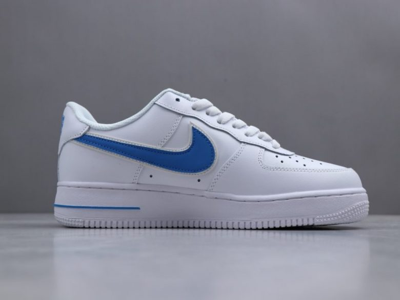 Nike Air Force 07 Logo Azul