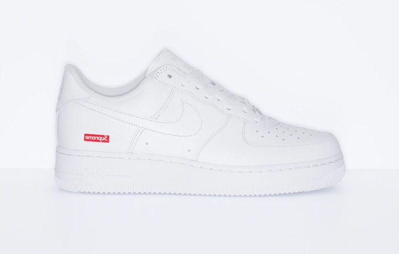 Nike Air Force Blanco X Supreme