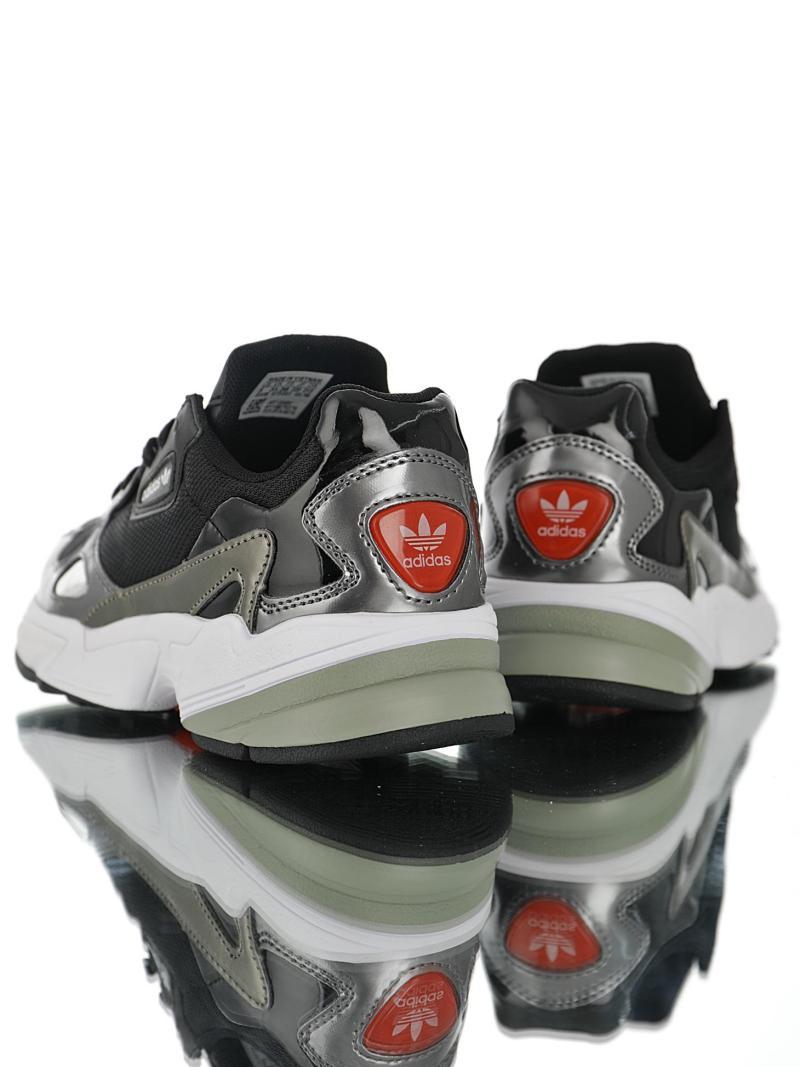 Adidas Falcon Negro Platinium
