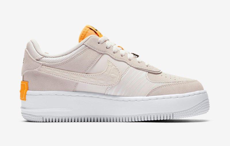 Nike Air Force 1 CAF1 Shadow Beige y Gris