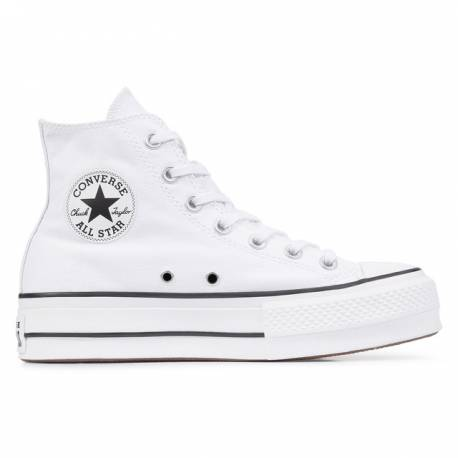 Converse All Star Blanco Plataforma