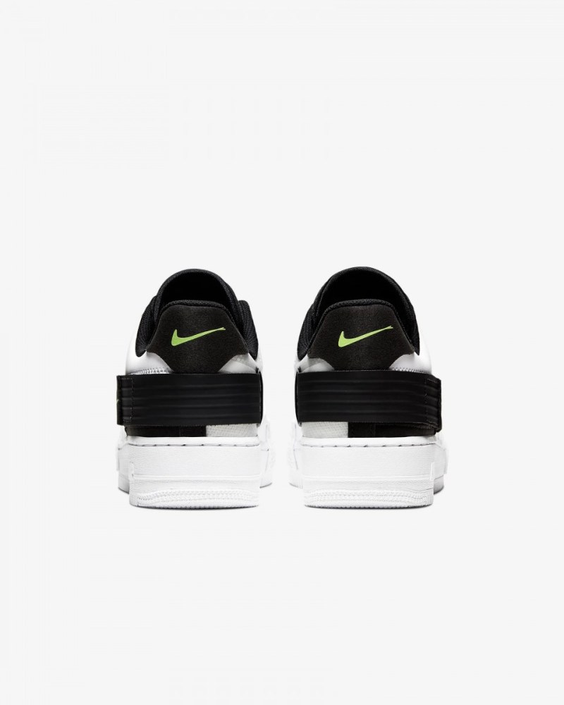 Nike Air Force Low Type Blanco y Negro