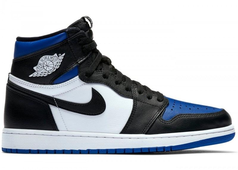 Air Jordan 1 Blue Royal Toe