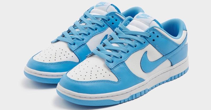 Nike Dunk Low University Blue UNC
