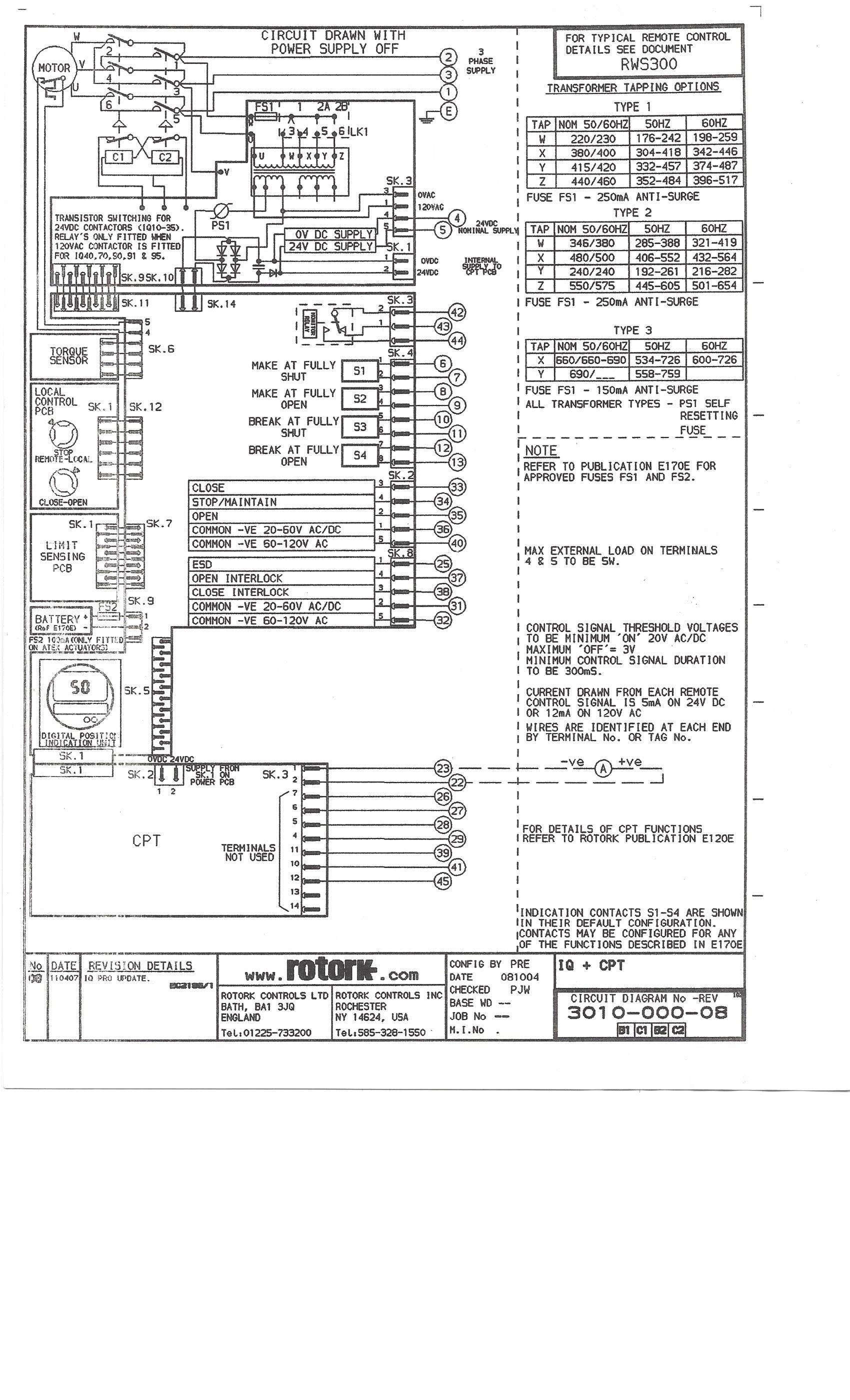 Charming Auma Actuators Wiring Diagram Photos Electrical Circuit Rotork Wiring Diagram PDF Limitorque Wiring Diagrams Rotork Mov Manual Pdf At IT-Energia.com