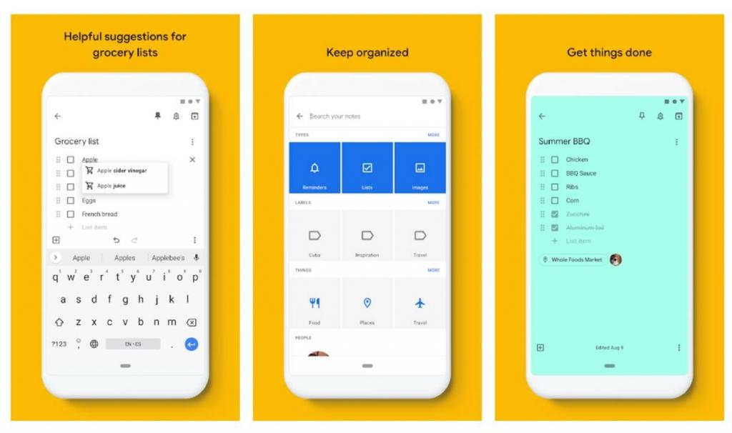 Google Keep: تطبيق لحفظ الملاحظات والأفكار