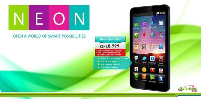 Safaricom Neon Tablet