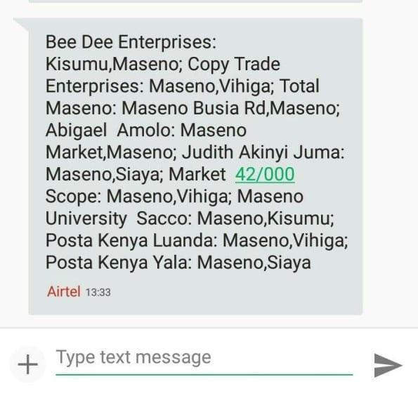 Airtel Money Maseno