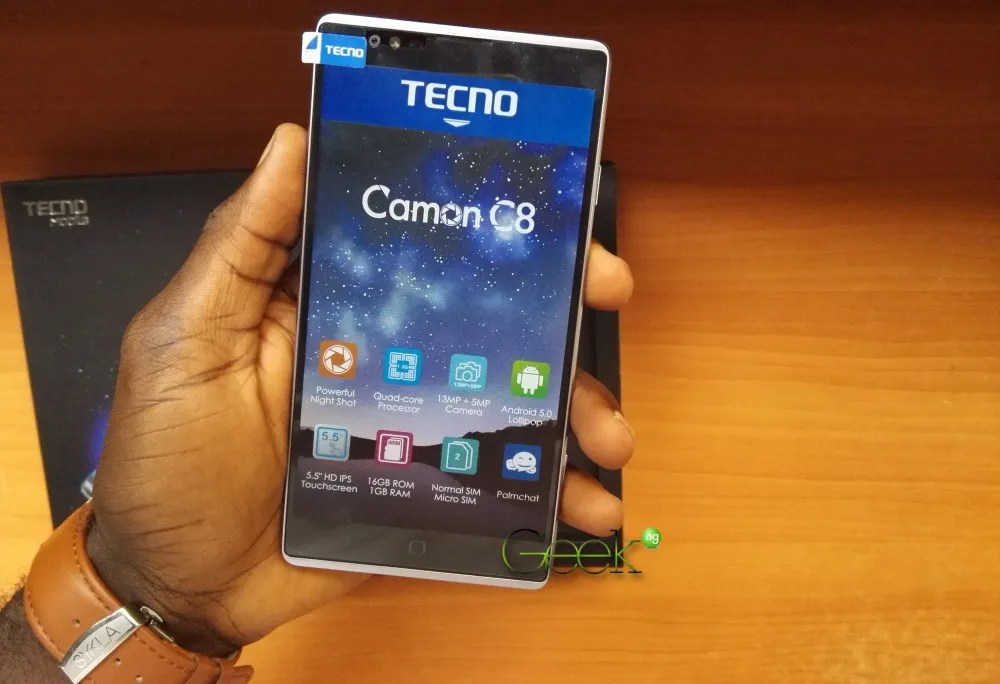 Tecno C8 Charging Ic Solution